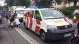 Der ASB München sorgt für eine schnelle und sichere Versorgung der Radler – Foto  - ASB München