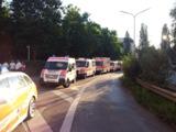 Die SEG Transport des ASB München im Einsatz beim Hochwasser in Straubing - Foto: ASB München