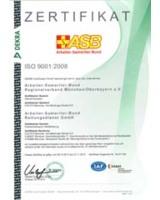 Die neuen Zertifikate für die ASB Rettungsdienst GmbH und den Intensivtransport des ASB München
