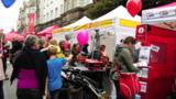 Großes Interesse für die Organisatoren des IsarInselFestes ASB, AWO und SPD; Foto: ASB München