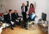 Besuch in der Pflegewohnung auf Zeit. Foto: ASB München