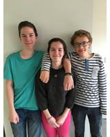 v.l.n.r: Bjarke Hoyem, Rosa Hoyem, Martin Lucke. Foto: ASB München