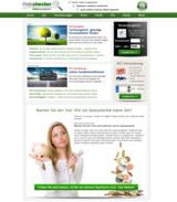 Online Test zum Sparpotential bei Preischecker.de