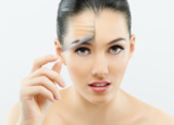 Ergebnis bei der Diamant-Microdermabrasion: Ihre Haut erscheint klarer, rosiger und frischer