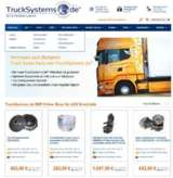 Ein benutzerfreundlicher, gut verständlicher Aufbau erleichtert den Einkauf bei TruckSystems.de
