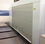 Rolltür mit einer Breite von 4500 mm an einer Lasermaschine