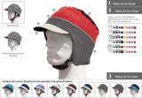 Individueller Kopfschutz zum Selbstgestalten von helt-pro®