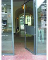 DICTATOR Rohrtürschließer RTS - Rathaus Leimen