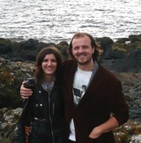 Die Gründer Franziska Schneider und Raymond Hackland