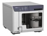 Der vollautomatische Brennroboter erstellt Patienten-CDs und DVDs vollautomatisch.