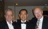 Prof. Peter Wernet Ihor Lemischka und Shinya Yamanaka 2010 in der Rockefeller University