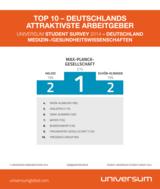Top 10 Arbeitgeber der Studierenden der Medizin und der Gesundheitswissenschaften