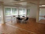 Wohnlich, hell und großzügig zeigen sich die ELA-Räume im temporären Schulungszentrum.