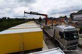Wird ein Paar herausgewählt, so wird auch der Wohncontainer vom ELA Spezial LKW abtransportiert.