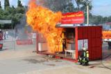 Anschaulich und sicher: Die Brandsimulation der Feuerwehr im ELA-System.