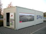 Die WM Box des Deutschen Fußballmuseums in einem Ausstellungsmodul von ELA Container.