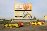 Das Transportsystem NBR Crawler transportiert neben ELA Containern Lasten bis zu mehreren Tonnen