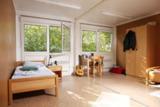 Komfortabel, hell, gemütlich – die Wohnräume von ELA in der Fachklinik Bokholt.