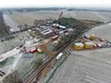 Die Baustelle der Gasverdichterstation von Gasunie ist ein Anwendungsbeispiel für ELA-Raumsysteme.