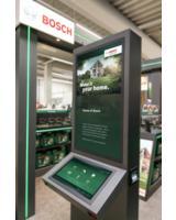 Interaktive Stele der Bosch Experience Zone  (Quelle: dimedis)