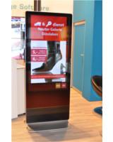 Interaktives Digital Signage in Shopping Malls