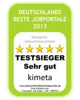 Kimeta.de ist Nutzerliebling und führende deutsche Jobsuchmaschine