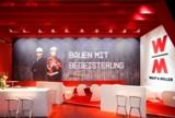 """Die Messelounge von """"Deutschland baut!"""" auf der EXPO-Real 2013."""