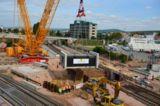 Baustelle in Bad Kreuznach für die DB AG