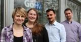 Johanna Hentrich und Kevin Ozan Rötlich sind die neuen Azubis der Göttinger Hausverwaltung.