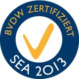 jaron erhält 2013 das SEA- und SEO-Qualitätszertifikat des BVDW.