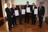 V.l.: Armin Heimann, Hans-Jürgen Eicke, Ulrich Fricke, Stephan Reich, Manuel Schmidt, Lothar Kunkel.
