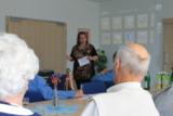 Ute Henschel von Seniola schult Senioren
