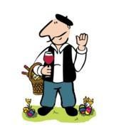 Henry hilft bei der Weinauswahl zu typischen Ostergerichten