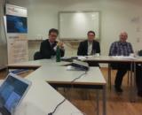 Dr. Carsten Linnemann im Gespräch mit Mitgliedern und Partnern des Technologienetzwerks InnoZent OWL