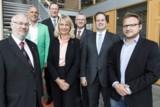 """Die Mitglieder der Arbeitsgruppe """"Multiplikatoren"""" des Beirats Digitale Wirtschaft NRW"""