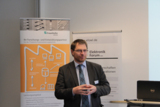Prof. Dr. Stefan Witte vom inIT bei der Eröffnung der Veranstaltung