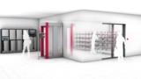 Flexibel positionierbar: RFID-Technologie ermöglicht flexible Bereitstellung von Berufskleidung.