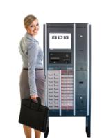 Zusammenführung von Nutzern, Prozessen und Workflows an einem einzigen Automaten.