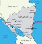 El Cacao in der Region El Rama im Osten Nicaraguas