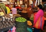 Markttreiben in Lima Peru