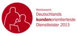 Deutschlands kundenorientierteste Dienstleister 2013