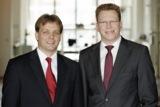 Der Vorstand der Trenz AG bestehend aus Stefan Gerdts und Frank Diegel