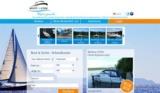 Screenshot der neuen Startseite von Boot24.com