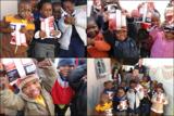 Begeistert posierten die Kinder in Khumbulani für Fotos