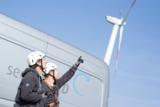 seebaWIND-Techniker sind national und international für die Wartung von Windkraftanlagen im Einsatz.
