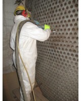 Starke Ablagerungen sind kein Problem für das TubeMaster-System, auch nicht bei großen Rohren.