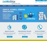Die online Versandplattform LetMeShip hat einen neuen Look