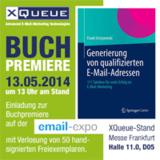 Buchpremiere auf der Email-Expo: Generierung von qualifizierten E-Mail-Adressen