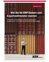 AEBs White Paper bietet Tipps für exportierende Unternehmenportierende Unternehmen