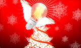 Weihnachten mit der LED Glühbirne von ChiliconValley